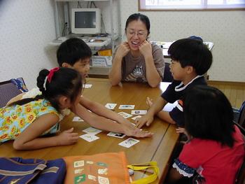 小学生英語の授業風景(1)