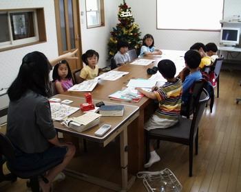 小学生英語の授業風景(2)