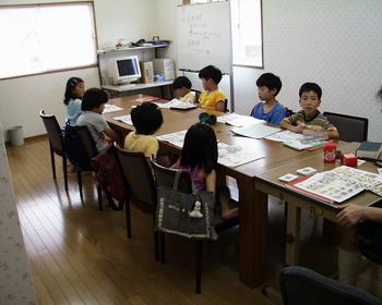 小学生英語の授業風景(4)