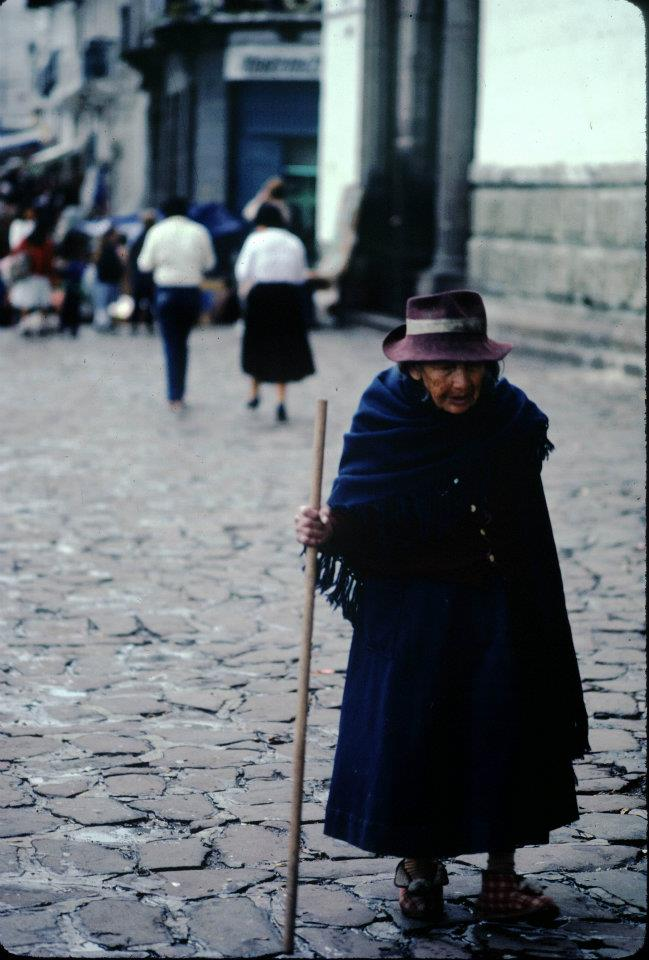 Quito in Ecuador, 1983
