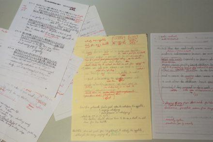 英作文指導のノート